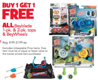 Hot Toys R Us Deals Today Only For Beyblades Better Than
