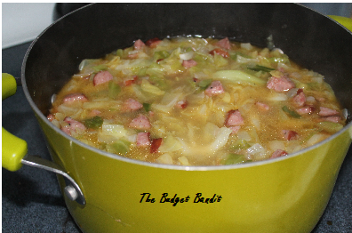 Cabbage and Kielbasa Soup RecipeLiving Chic Mom