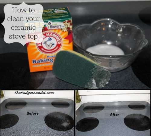 Diy how to clean your ceramic stove top with just 1 How to clean top of oven