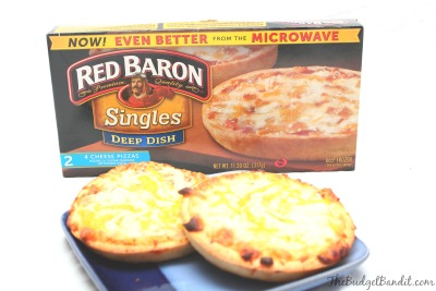 Red Baron Mini Deep Dish Pizza Review Living Chic Mom