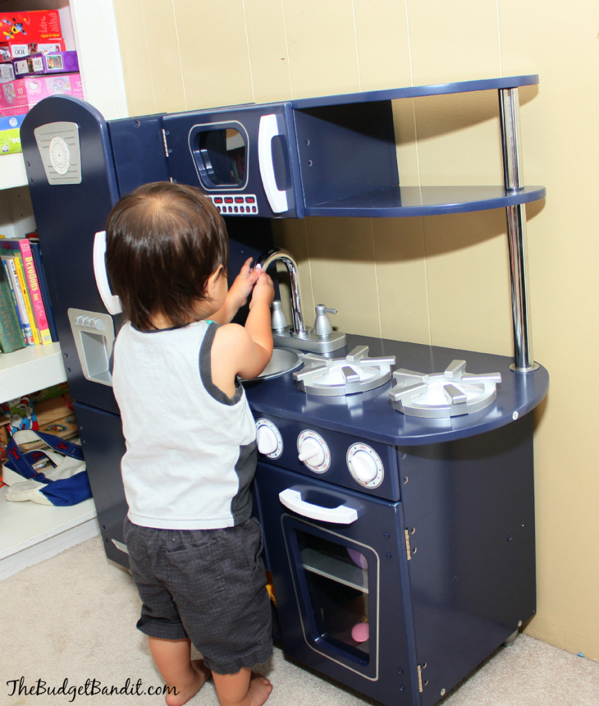 KidKraft Vintage Navy Kitchen Review: Image, Play, Grow - Living ...