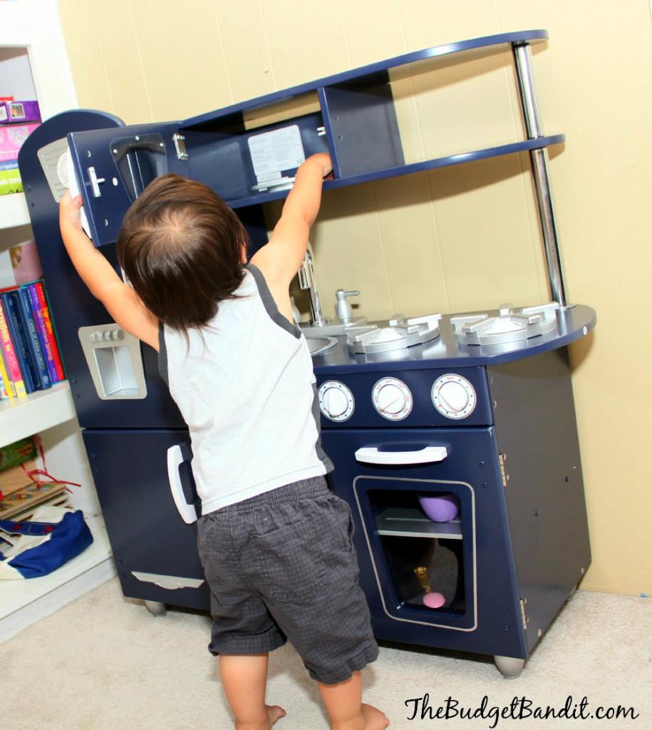 KidKraft Vintage Navy Kitchen Review: Image, Play, Grow