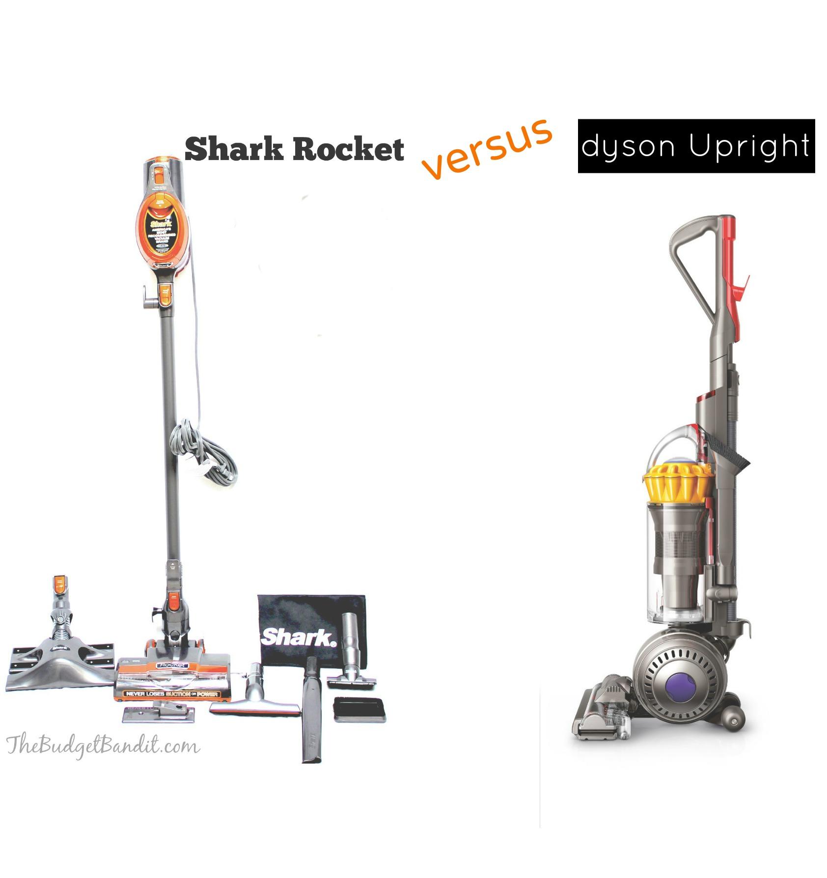 Shark Rocket Versus Dyson Vacuum Review Living Chic Mom